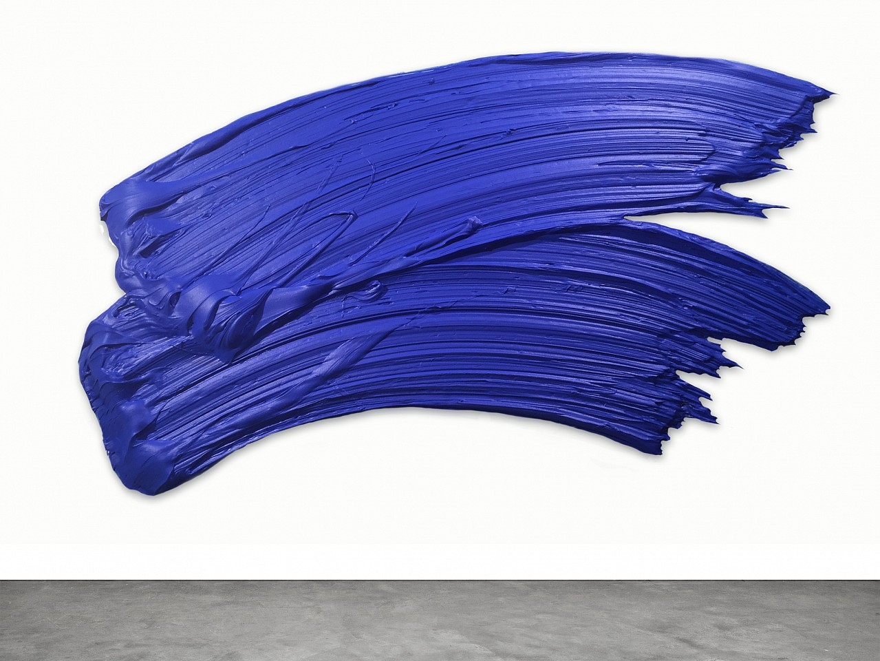 Donald Martiny ,   Shudit  ,  2016     polymer and pigment on aluminum ,  37 x 64 x 4 in. (94 x 162.6 x 10.2 cm)     MART0014