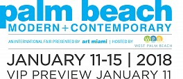 Past Fairs: Palm Beach Modern + Contemporary, Jan 11 – Jan 15, 2018