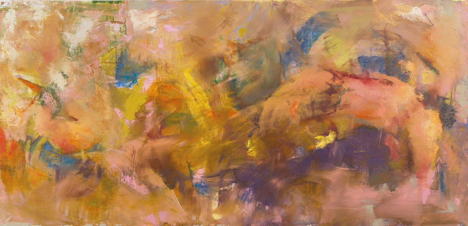 Beverly Barkat ,   #458      Oil on Canvas ,  47 1/8 x 90 1/2 in. (120 x 230 cm)     BARK00015