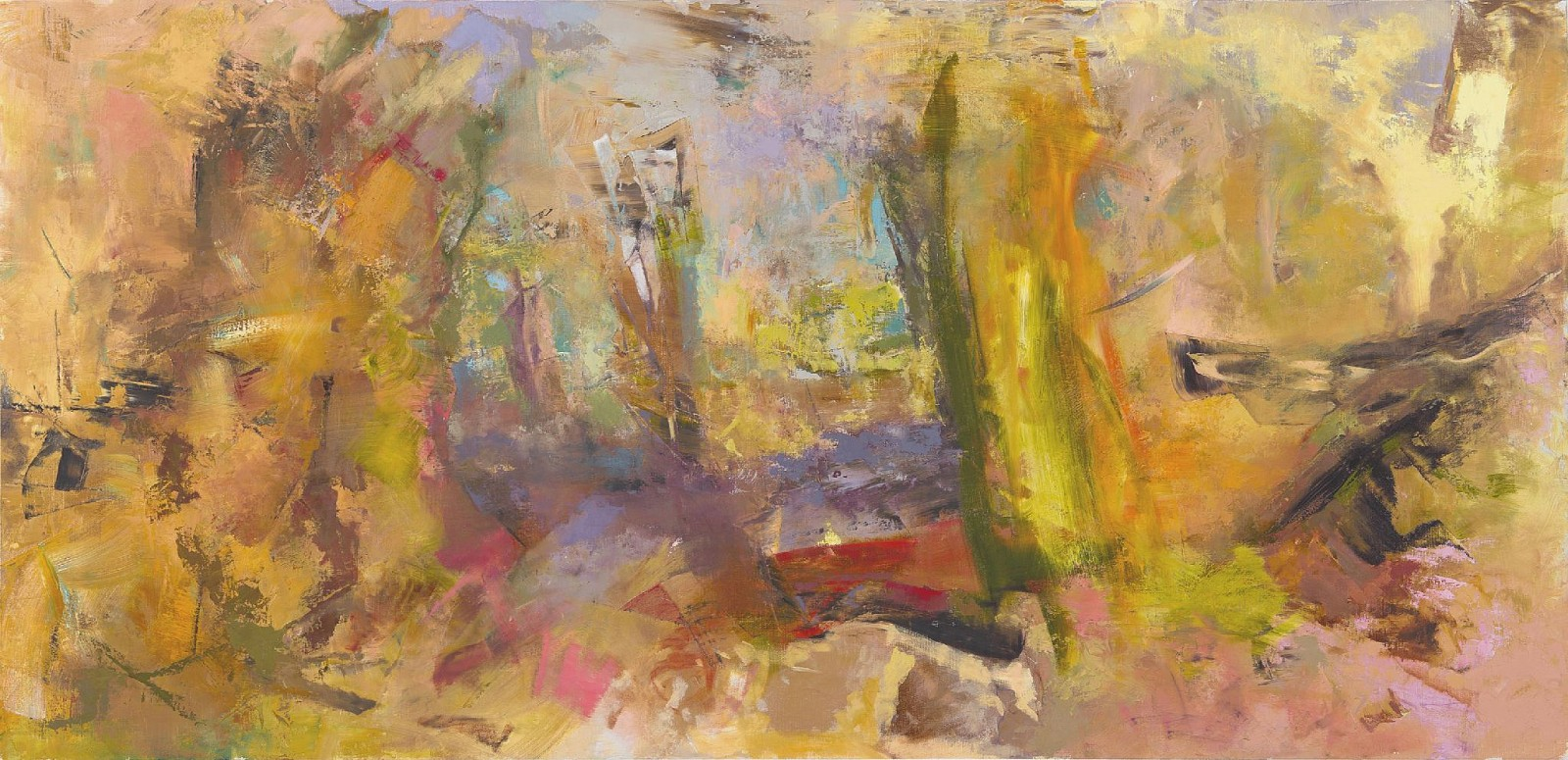 Beverly Barkat ,   #459      Oil on Canvas ,  47 1/8 x 90 1/2 in. (120 x 230 cm)     BARK00014