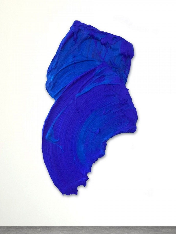 Donald Martiny ,   Ahom  ,  2017     polymer and pigment on aluminum ,  66 x 37 in. (167.6 x 94 cm)     MART0053