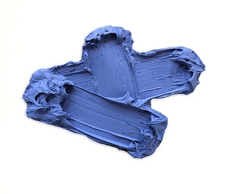 Donald Martiny ,   Study for Cheoah  ,  2018     polymer and pigment on aluminum ,  14 x 19 in.     MART00077