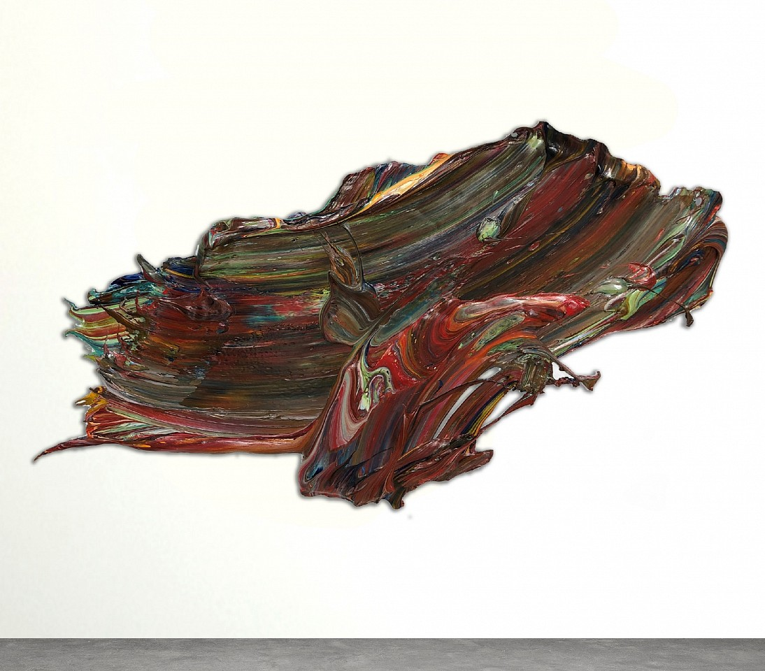 Donald Martiny ,   Auburndale  ,  2018     polymer and pigment on aluminum ,  45 x 76 in. (114.3 x 193 cm)     MART00105
