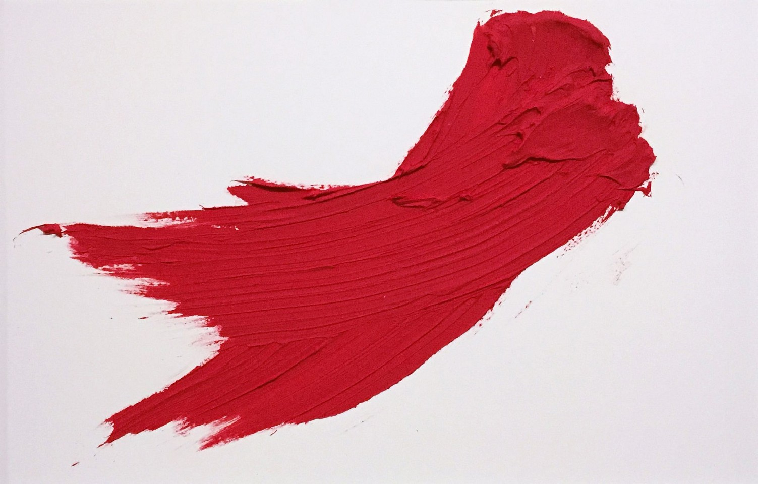 Donald Martiny ,   Untitled  ,  2017     polymer and pigment on paper ,  22.75 x 30.5 in. paper, 30 x 38 in. frame     Red framed     MART0045
