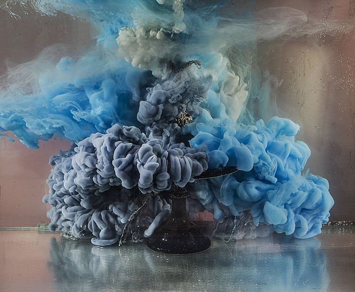 Kim Keever ,   Z Abstract 39208  ,  2018     Diasec mounted photograph ,  28 x 33 inches $4,200   50 x 65 inches $6,600     KEEV00013