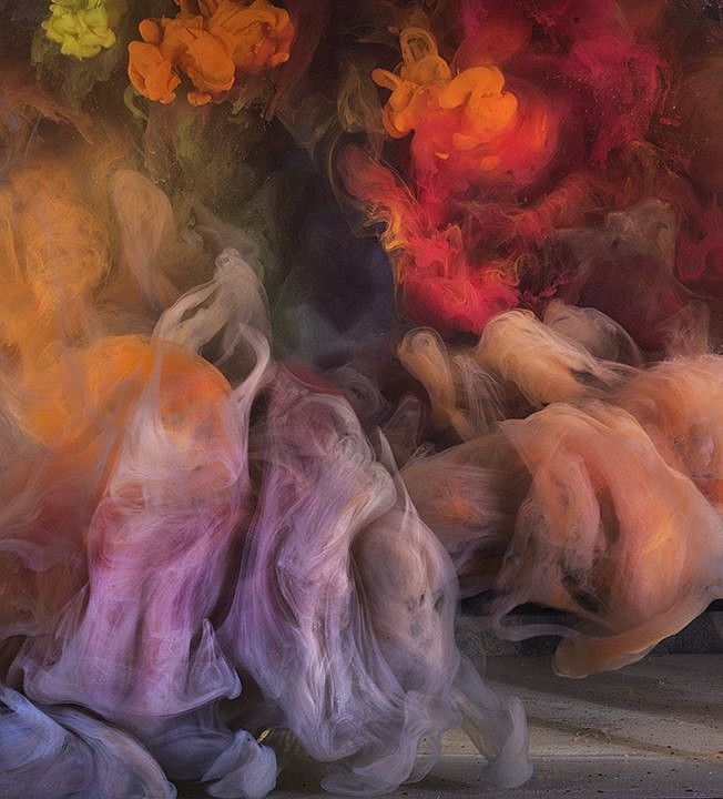 Kim Keever ,   Z Abstract 46225  ,  2019     diasec mounted photo ,  30 x 28 inches$4,200    46 x 44 inches $5,400     KEEV00005