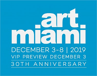 Fair: Art Miami, December  3, 2019 – December  8, 2019